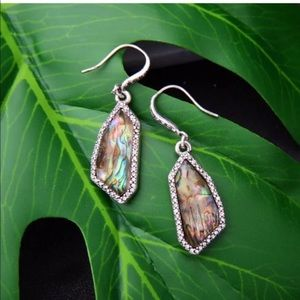 Gorgeous Abalone Crystal Earrings